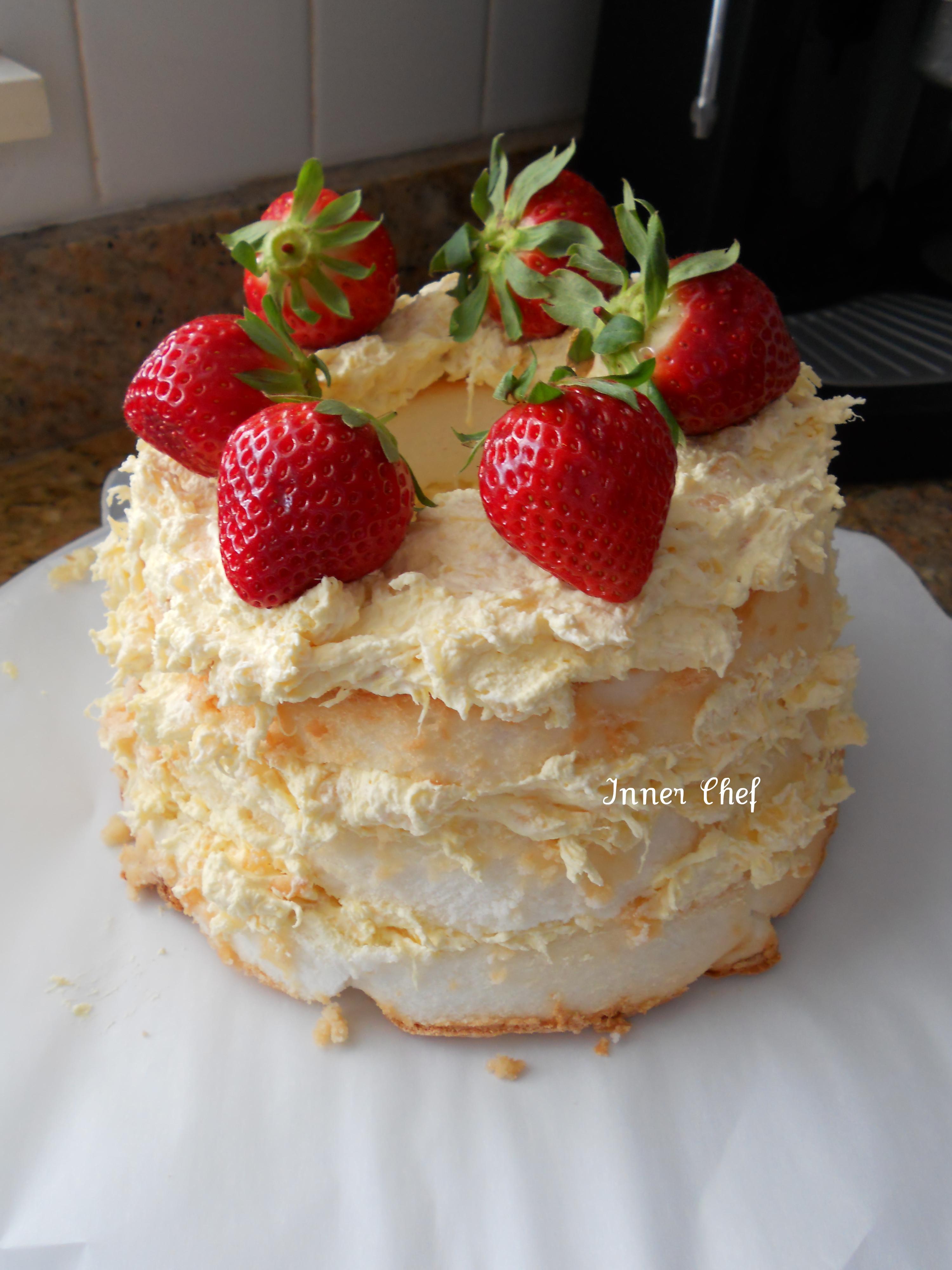Ingredient Angel Food Cake Cherry